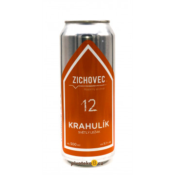 Zichovec - Krahulík 12 (0,5L)