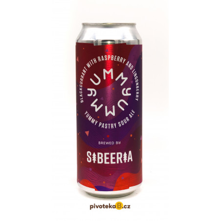Sibeeria - Yummy Blackcurrant w/ Raspberry & Lingonberry (0,5L)