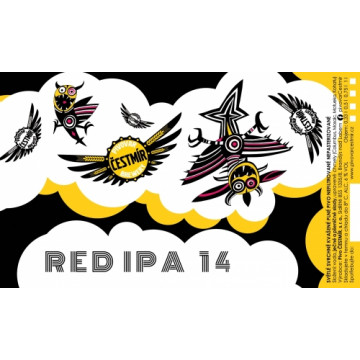 Čestmír - Red IPA (0,75L)